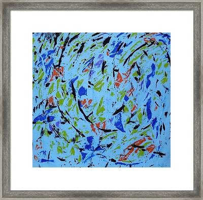 Dancing Light Framed Print