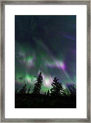 Framed Print featuring the photograph Dancing Lights by Dan Jurak