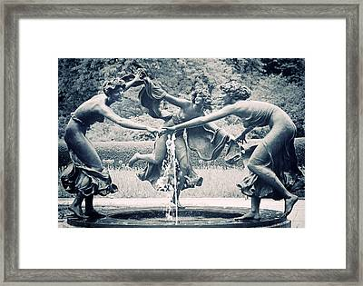 Dancing Maidens Framed Print by Jessica Jenney