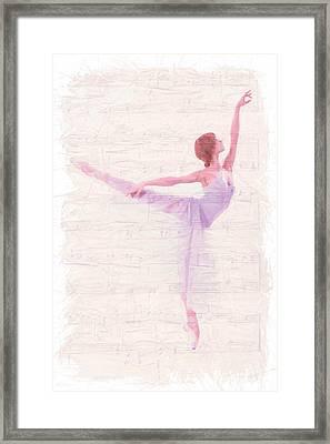 Dancing Melody Framed Print by Steve K