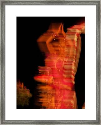 Dancing Mirage Framed Print by Vijay Sharon Govender