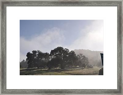 Dancing Mist Framed Print