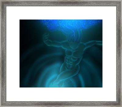 Dancing Night Framed Print by Nicholas Sharpe