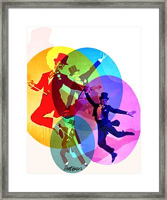 Dancing On Air Framed Print by Seth Weaver