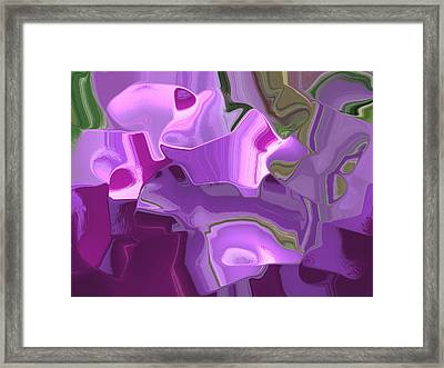 Dancing On The Edge Of Reality Framed Print by Lisa S Baker