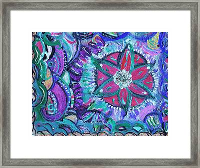 Dancing Party Framed Print by Anne-Elizabeth Whiteway