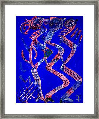 Dancing Queen Framed Print by Teo Santa