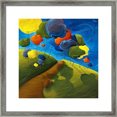 Dancing Shadows Framed Print by Richard Hoedl