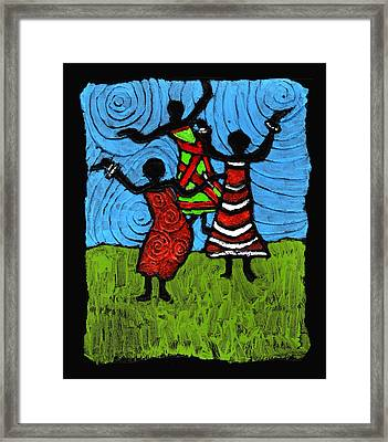 Dancing So Good I Started To Fly Framed Print