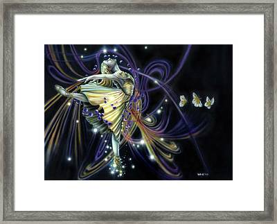Dancing Stars Framed Print by Wayne Pruse