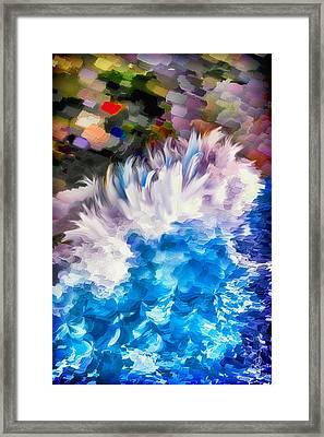 Dancing Swells Framed Print