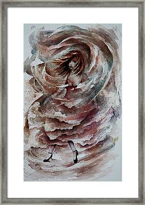 Dancing The Storms Framed Print by Rachel Christine Nowicki