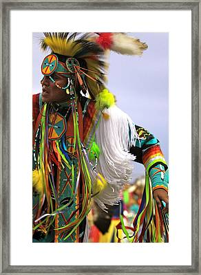Dancing To Ancient Rhythm Framed Print