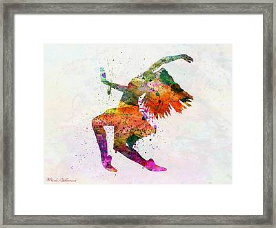 Dancing To The Night  Framed Print