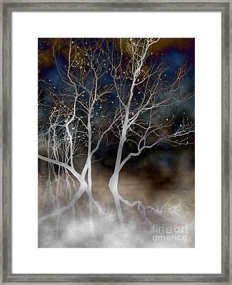 Dancing Tree Altered Framed Print