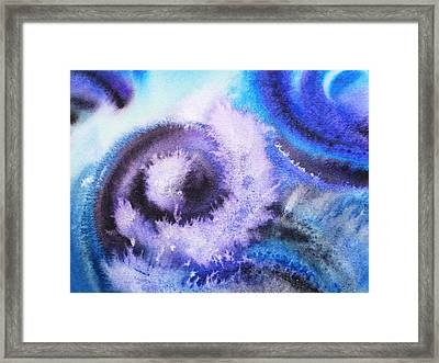 Dancing Water Iv Framed Print