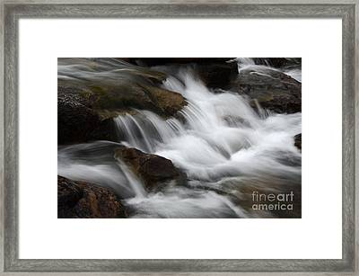 Dancing Waters 1 Framed Print by Bob Christopher