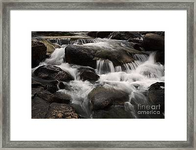 Dancing Waters 7 Framed Print by Bob Christopher