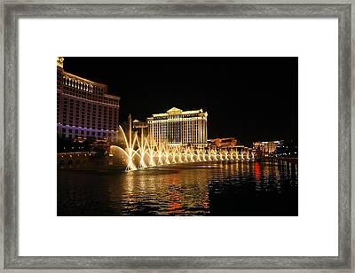 Dancing Waters Framed Print