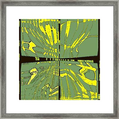Dancing Waves Framed Print