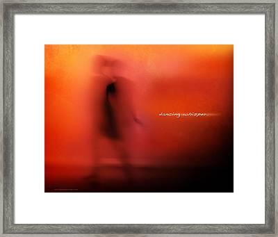 Dancing Whisper Framed Print