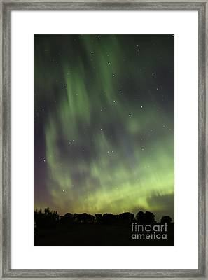 Framed Print featuring the photograph Dancing With The Dipper by Larry Ricker