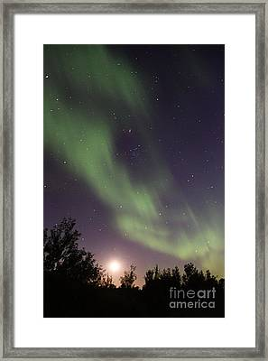 Framed Print featuring the photograph Dancing With The Moon by Larry Ricker