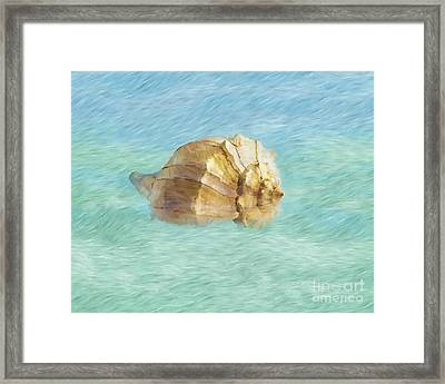 Framed Print featuring the photograph Dancing With The Sea by Betty LaRue