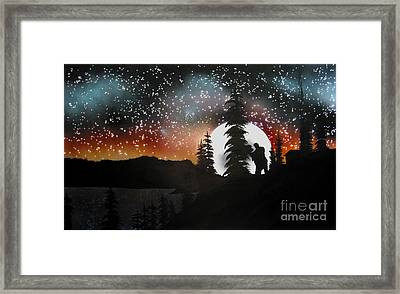 Dancing With You Framed Print by Ed Moore