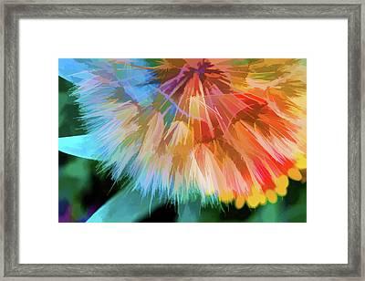 Dandelion Circus Framed Print