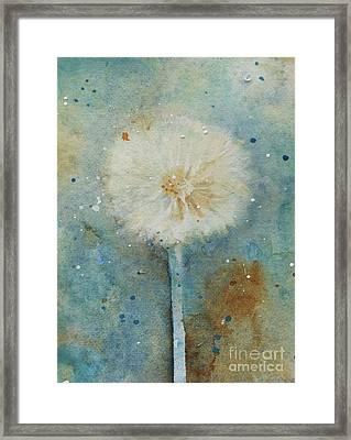Dandelion Clock 2 Framed Print