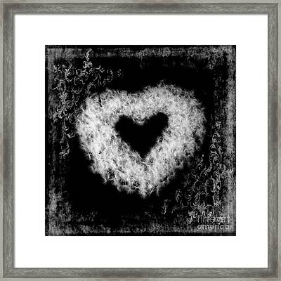 Dandelion Love Framed Print by Tamyra Ayles