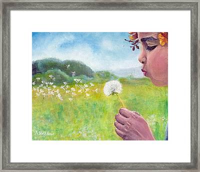 Dandelion Framed Print by Viktor Stakhov