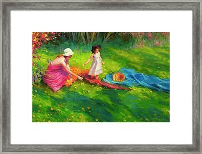 Dandelions Framed Print by Steve Henderson