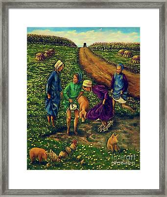 Dandy Day Framed Print by Linda Simon