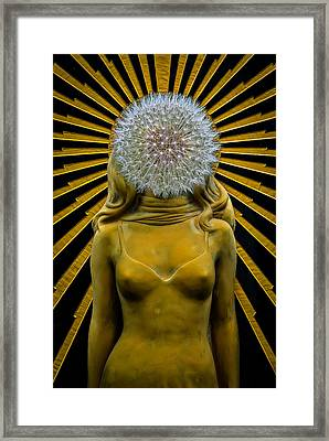 Framed Print featuring the photograph Dandy Girl by Harry Spitz