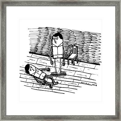 Dang - No Good Framed Print by Karl Addison