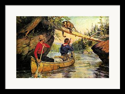 Portage Framed Prints