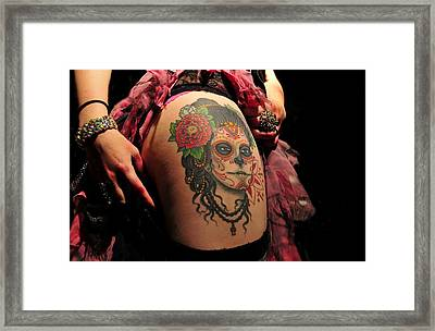 Dangerous Liaisons Framed Print by David Lee Thompson