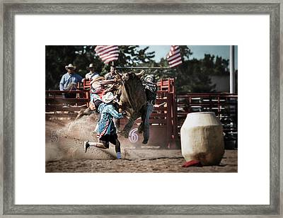 Dangerous Moments Framed Print by Eduard Moldoveanu