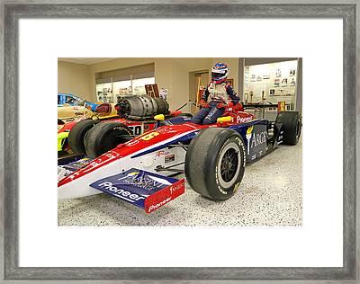 Danica Patrick Rookie Indy Car Framed Print by Steve Gass