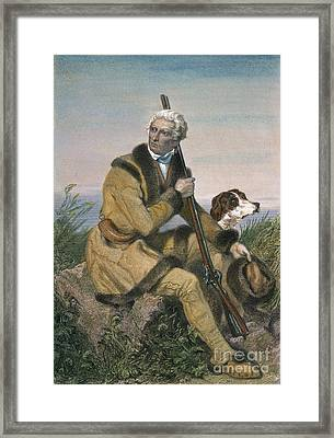Daniel Boone (1734-1820) Framed Print by Granger