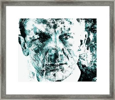 Daniel Craig 3b Framed Print by Brian Reaves