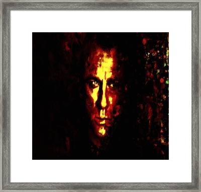 Daniel Craig 3s Framed Print