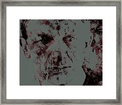 Daniel Craig 4f Framed Print by Brian Reaves