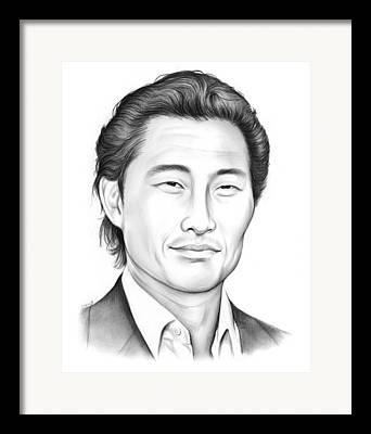Johnny Drawings Framed Prints