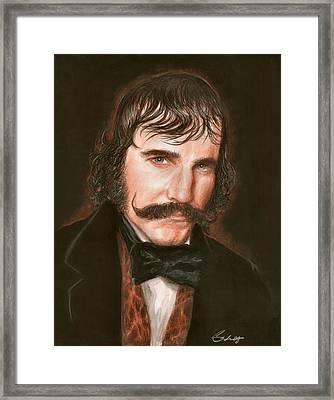 Daniel Day Framed Print by Bruce Lennon