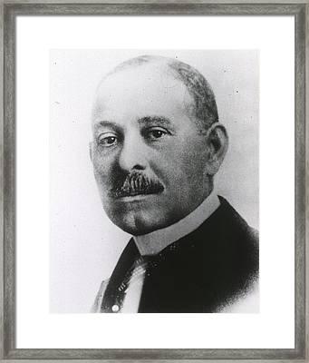 Daniel H. Williams 1856-1931 Framed Print by Everett