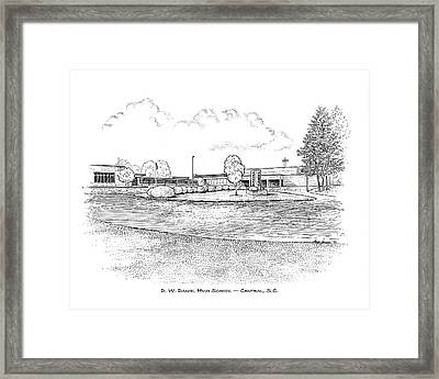 Daniel Hs Framed Print by Greg Joens