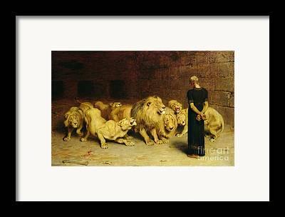 Lioness Framed Prints